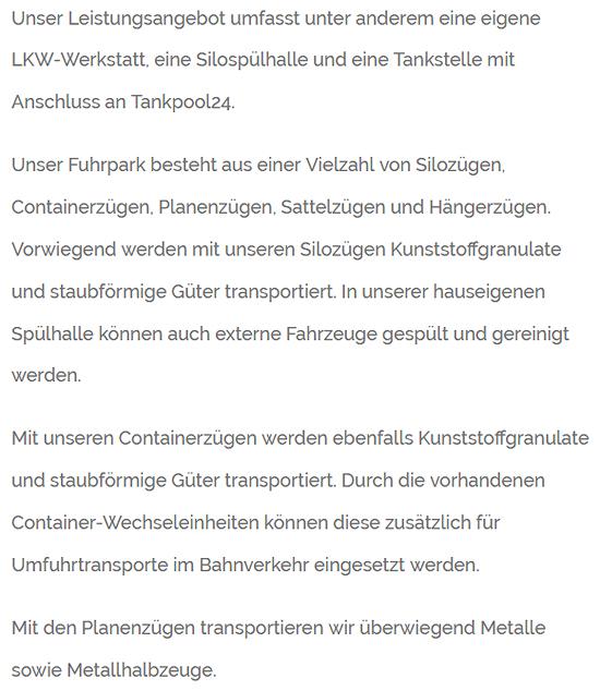 Gueterverkehr aus  Neckarsulm