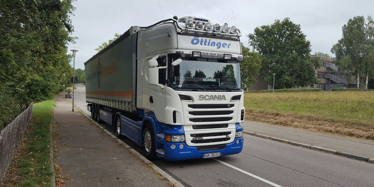 Metalltransport aus  Gaildorf